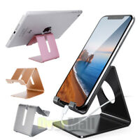 Universal Aluminum Tablet Desk Stand Holder Mount For iPad Air iPhone Cell Phone