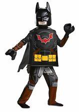 New Boys S 4-6 Lego 2 Movie Batman Costume