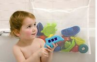 KIDS BABY BATH TIME TOY TIDY STORAGE SUCTION CUP BAG MESH BATHROOM NET