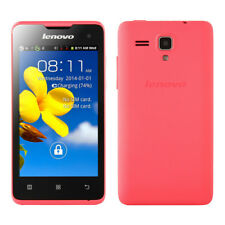 "Lenovo A396 4.0"" Android 2.3 SmartPhone Dual Sim Quad Core WIFI 3G WCDMA Pink"