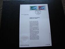 FRANCE - document 1er jour 23/11/1991 (conseil de l europe) (cy74) french