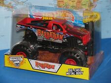 1/24 HOT WHEELS MONSTER JAM BARBARIAN TRUCK DIECAST OFF-ROAD *BRAND NEW & VHTF*