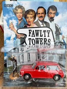 FAWLTY TOWERS Austin 1300 Estate model car & Basil figure BBC DVD Edition 1:43rd