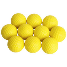 10pcs Practice Golf Balls PU Golf Ball Soft Dimpled Elastic Training Soft Foam