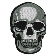 Skull Realistic Embroidered Patch S030P Harley Biker Tattoo Triumph Death