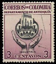 "COLOMBIA 645 (Mi765) - Antioquia ""Industry"" (pf73861)"