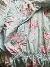 New ListingSimply Shabby Chic King Size Cabbage Rose Ruched Duvet.no Shams