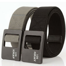 "2pcs 1.5"" Mens Elasticated Belt Casual Braided Tactical Heavy Duty Sports Belts"