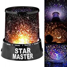 Enfants STAR MASTER Nuit Ciel étoile Lampe Projecteur LED Lune Lampe Chambre