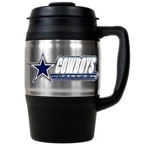 Dallas Cowboys NFL Bubba Stainless Steel Thermal Travel Mug 34 oz