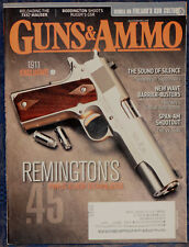 Magazine GUNS & AMMO February 2012 S&W No.3 Russian, TAURUS Tracker Model 992