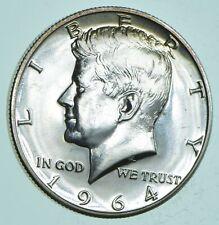 PROOF - 1964 Kennedy Half Dollar 90% Silver - Stunning Mirrors *104