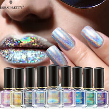 BORN PRETTY Holographicsssss Nail Polish Laser Glitter Nail Art  Varnish 6ml