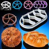 2Pcs/set Round Oval Classic Bread Molds Cake Biscuit Moulds Fan Pastry Cutter