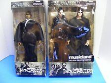 The Matrix Neo Trinity Morpheus Action Figures #28018 & #28046 New