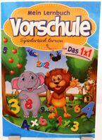 Lernbuch + Vorschule + Das 1x1 Rechnen + Spielerisch lernen + Zahlen Verständnis