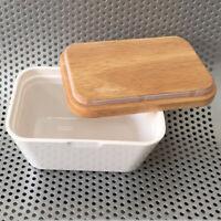 Butterdose Box Halter Luftdicht Butterhalter Küche Lagerung mit Deckel 250ml