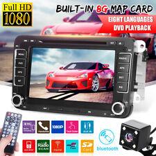 "7"" 2 Din Autoradio Stereo DVD Player GPS Navi Per Vw Golf 5 6 Passat Seat Skoda"
