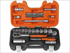 Bahco - BAHS330 - S330 Socket Set of 34 Metric 1/4in & 3/8in Drive