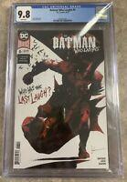 Batman Who Laughs #6 CGC 9.8 NM Jock Cover DC Super Fast Shipping