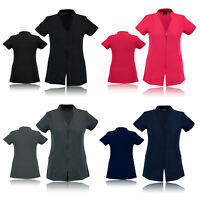 Work hairdressing Spa Nail Salon Beauty Therapist Healthcare Tunic Uniform