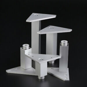 Adjustable Cabinet Table Sofa Bed Feet Furniture Leg Triangle Square Stand SG