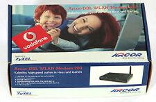 ZyXEL Arcor-DSL WLAN-Modem 200 54 Mbps 4-Port 10/100 Wireless G Router Vodafone