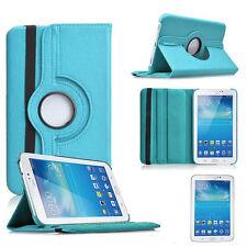 "Samsung Galaxy Tab 2 P3100 7"" 360° CASE COVER SCHUTZ HÜLLE ETUI TASCHE BLAU"