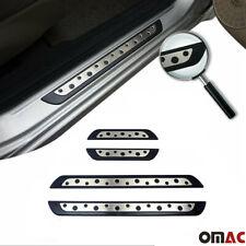 For Mazda CX-3 CX-5 CX-7 CX-9 Door Sill Cover Scuff Plate S.Steel & Plastic 4Pcs
