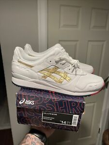Kith Asics Ronnie Fieg Gel-Lyte III Supergold Olympics Size 14 IN HAND Limited