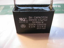 6.0 uF +/- 5% Eun Sung Edcn-23A035 Capacitor Used Tested Good