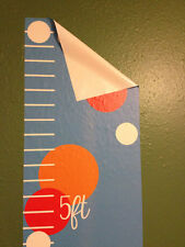 Removable Wall Vinyl Childrens Growth Chart