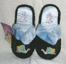 Disney Tinkerbell  Plush Ladies Slippers NEW XS 3-4