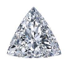 EGL Certificate 2.30ct E Color SI2 Clarity Trillion Excellent Cut Diamond