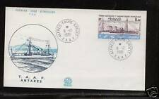 French  Antarctic  C69   on cover