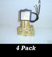 """1/2"""" Parker Electric Valve 300 psi 4 pack + Free Shipping"""