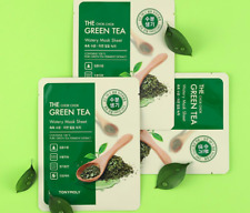 TONYMOLY THE CHOK CHOK GREEN TEA WATERY MASK SHEET 10pcs