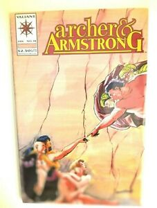 Valiant Comics Jan No.18 Archer & Armstrong By Michel Vazelo