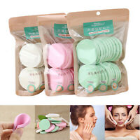 20Pcs Soft Cleansing Sponge Natural Face Wash Puff Facial Cleaning Pad
