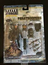 1:18 BBi Elite Force Paratrooper Modern Delta Force Night Ops Danny Lynch Figure