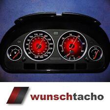 Cadran de compteur de vitesse F.BMW E38 / 39/53 ROUGE 300 km/H Diesel m5-q