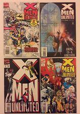 X-Men Unlimited (1st Series) #1, 3, 4, 5 (Marvel Comics, 1993-94) VF- (4 Comics)