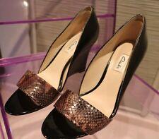 Chaussures cuir Clarks talon compensé pointure 38