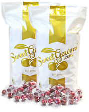SweetGourmet Wrapped Red Raspberries Filled Holiday Candy - 10Lb FREE SHIPPING!