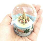 Wat Arun Snow Water Globe 3D Art Glass Paper Weight Resin Souvenir Gift Vintage