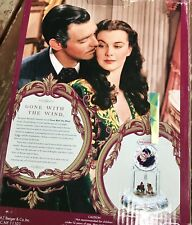 Gone With The Wind Tara Theme Anniversary Clock Horse Carriage Collectors