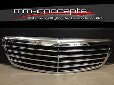 Kühlergrill Grill für Mercedes W221 S Klasse Frontgrill AMG Schwarz S65 S63 S55
