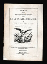 Management & Cleaning of Rifle Musket, Model 1863 for the Use of Soldiers