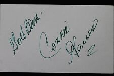 Connie Haines Big Band Singer and Entertainer Autographed 3x5 Index Card 106