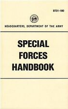 Special Forces Handbook - Technical Field Manual #ST31-180